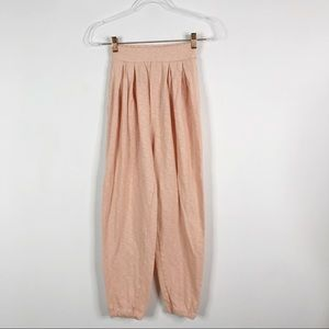 Free People Beach Cropped Joggers Pink XSmall XS